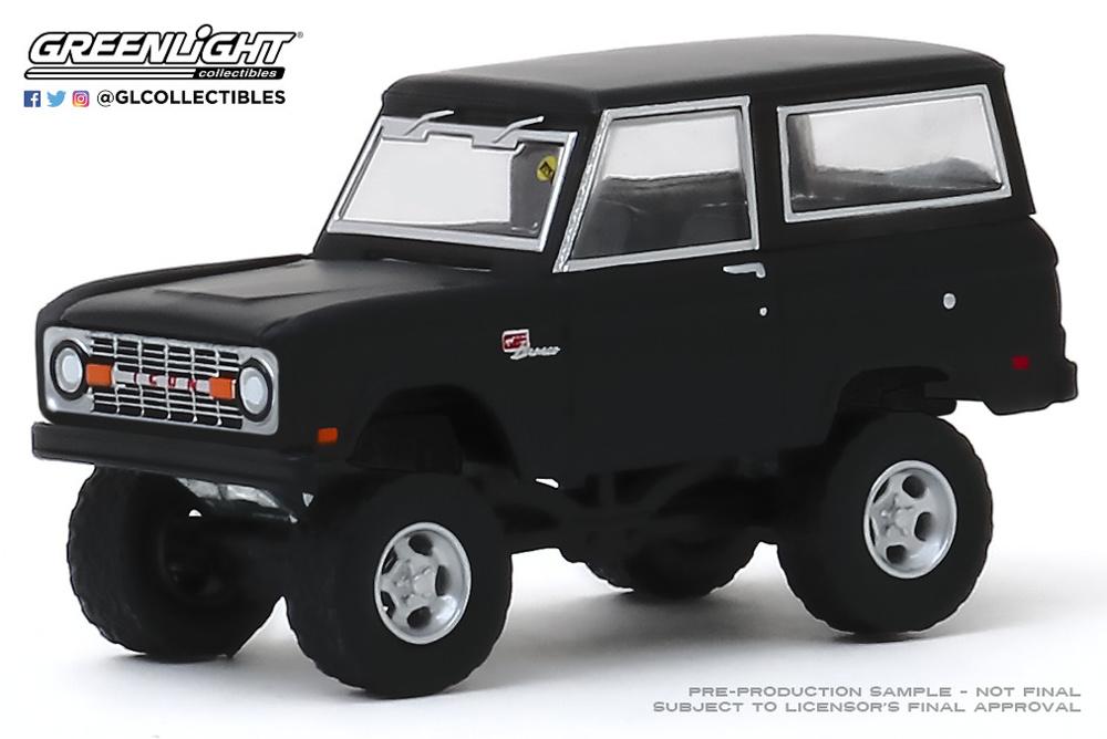 Ford Icon Bronco - 1968 (Houston 2019) Greenlight 1/64