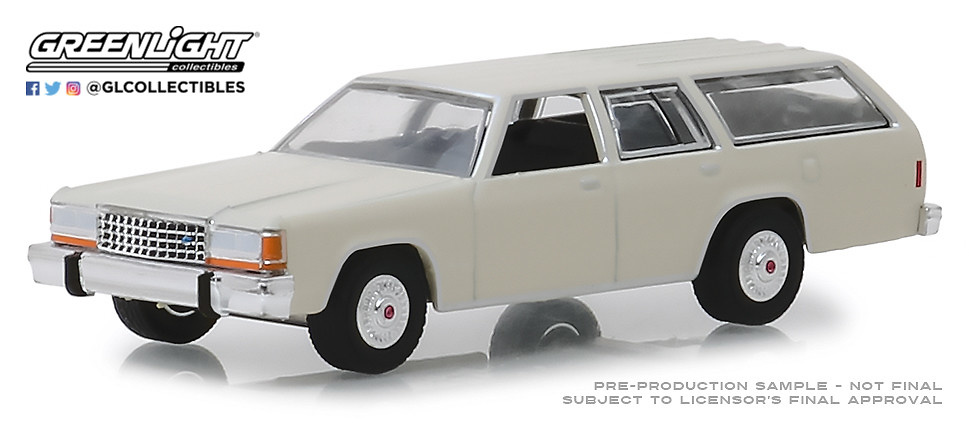 Ford LTD Crown Victoria Wagon (1984) Serie 3 State Wagons Greenlight 1/64