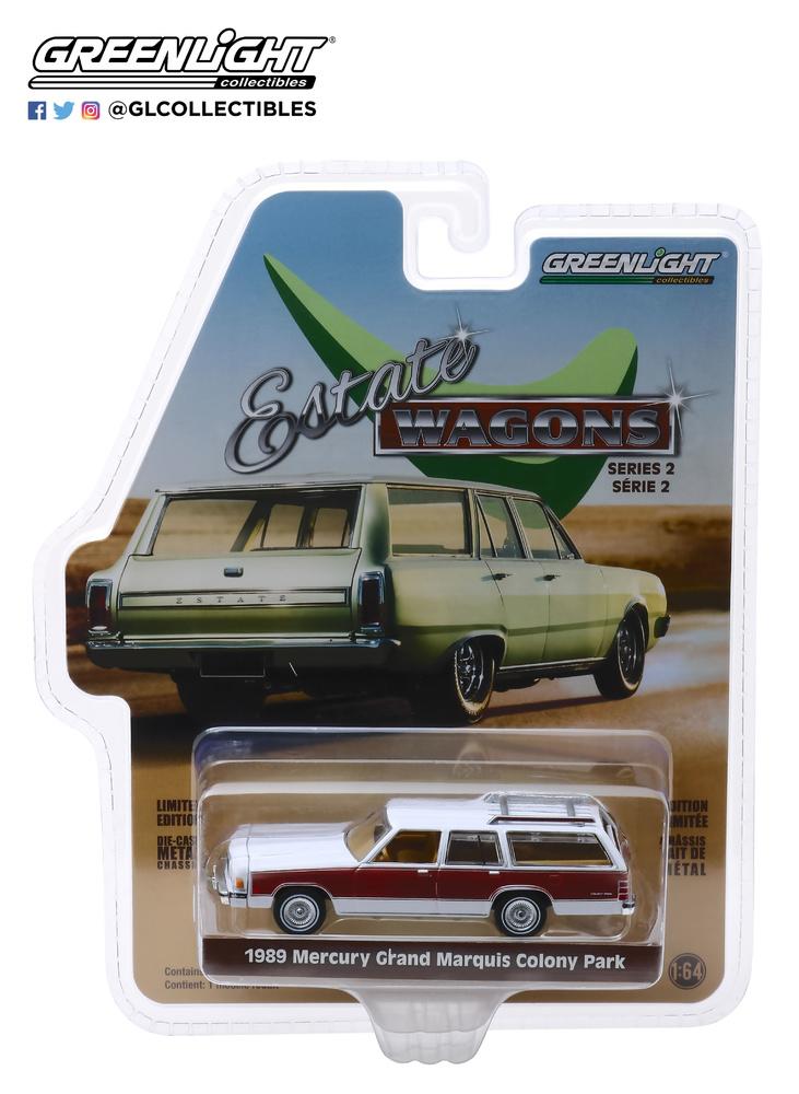 Ford Mercury Grand Marquis Colony Park (1989) Greenlight 29930-F 1/64