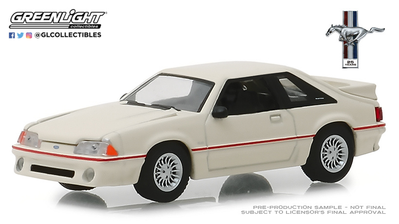 Ford Mustang 5.0 (1989) Greenlight 27970E 1/64