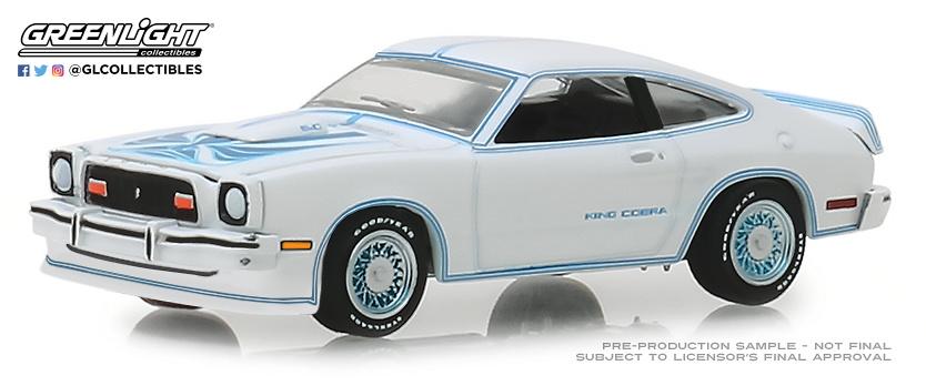 Ford Mustang II King Cobra (1978) Greenlight 13230C 1/64