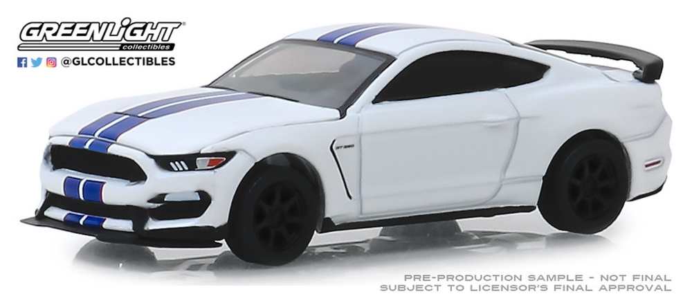Ford Shelby GT350R VIN001 (Lot #3008) (2015) Greenlight 1/64