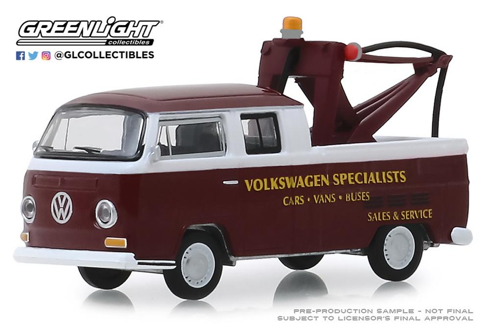 Grúa Volkswagen T2