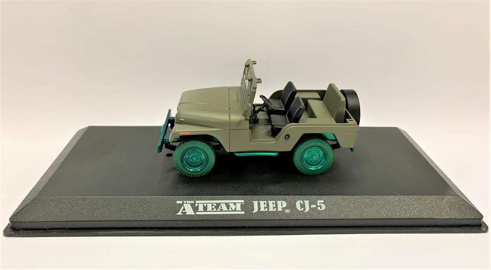 Jeep CJ-5 El equipo A (1983) Greenlight 1/43