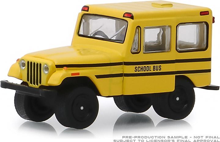 Jeep DJ-5 Autobús Escolar (1974) Greenlight 1/64