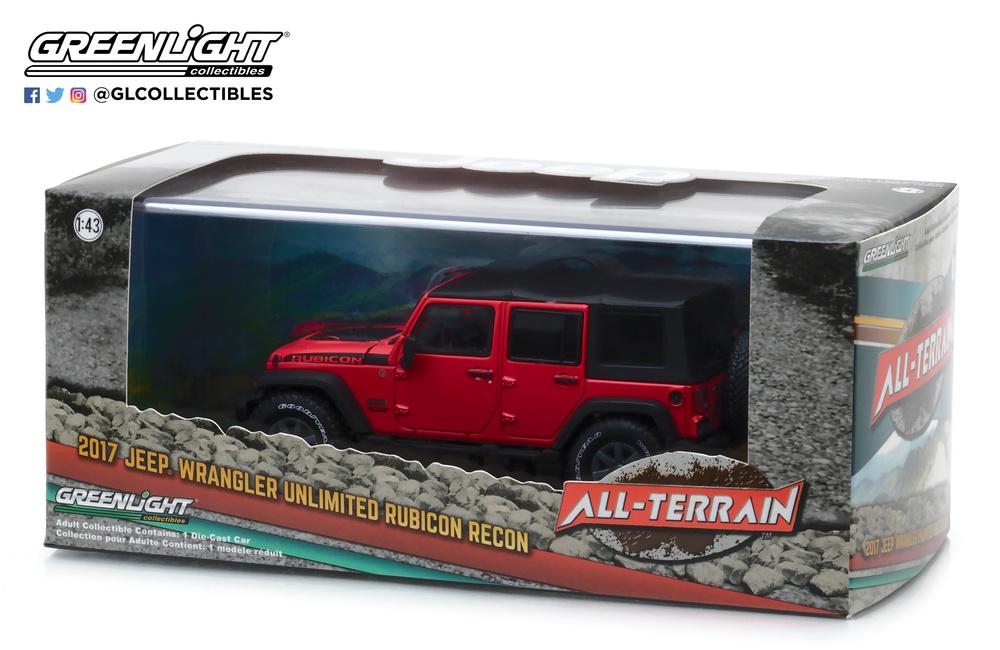 Jeep Wrangler Unlimited - Rubicon Recon (2017) Greenlight 86093 1/43