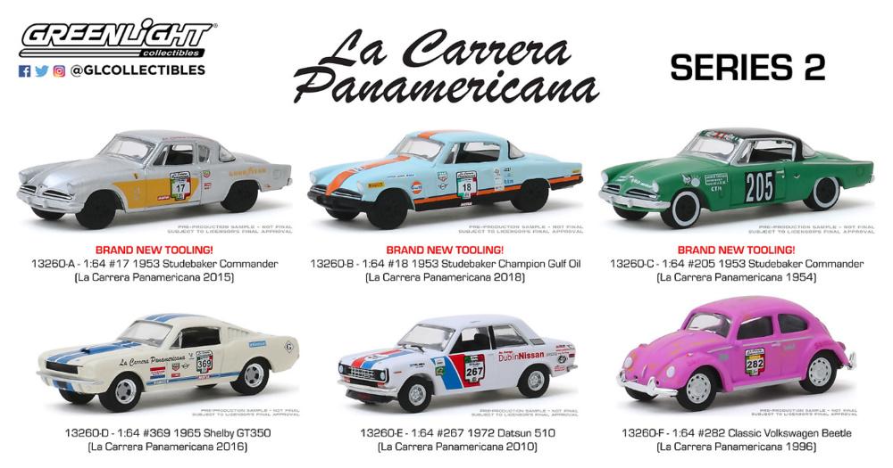 Studebaker Champion #205 la carrera panamericana GreenLight 1:64 OVP nuevo
