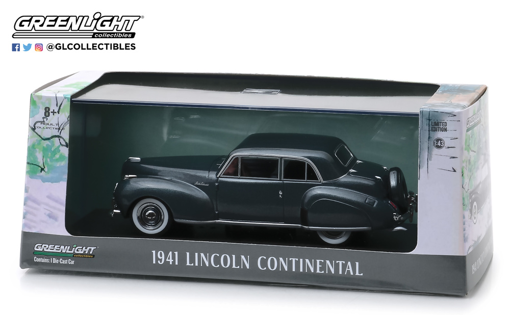 Lincoln Continental (1941) Greenlight 86325 1/43