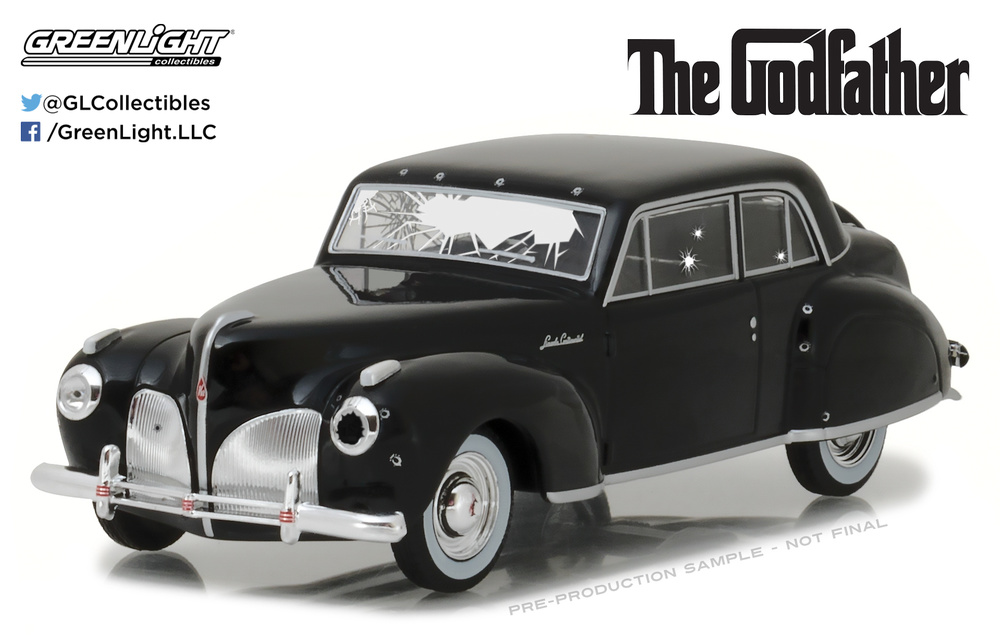 Lincoln Continental Tiroteado (1941) Greenlight 86511 1/43