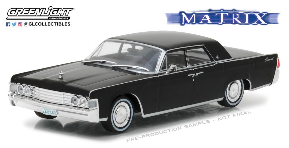 Lincoln Continental de la pelicula Matrix Greenlight 86512 1/43