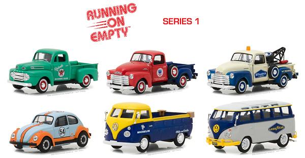 Lote Running on Empty Serie 1 Greenlight 1/64