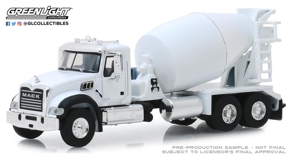 Mack camión hormigonera (2019) Greenlight 1/64