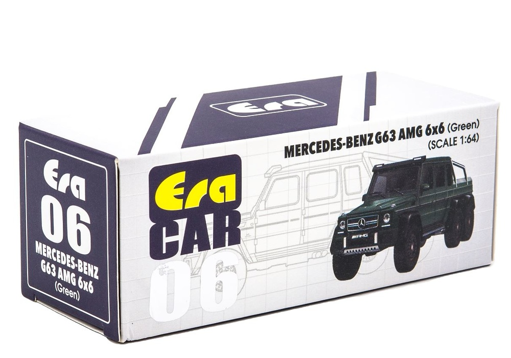 Mercedes Benz G63 AMG 6x6 (2013) Era 1/64