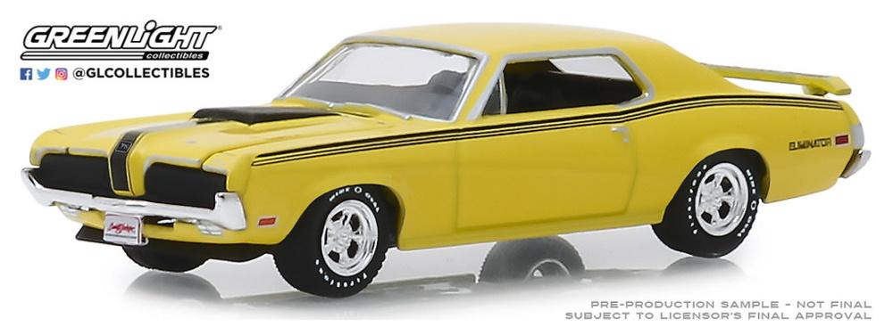 Mercury Cougar Eliminator 428 CJ (Lot #2048) (1970) Greenlight 1/64
