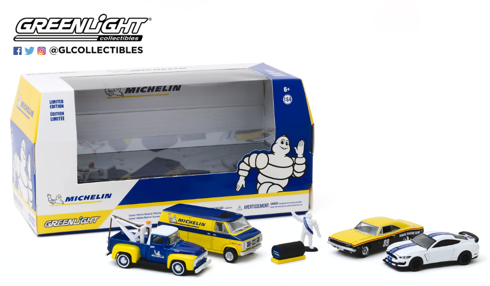 Multi-Car Dioramas - Michelin Service Center 1/64