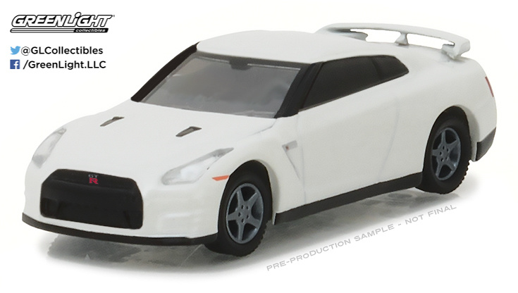 Nissan GT-R -R35- (2014) Greenlight 29880F 1/64