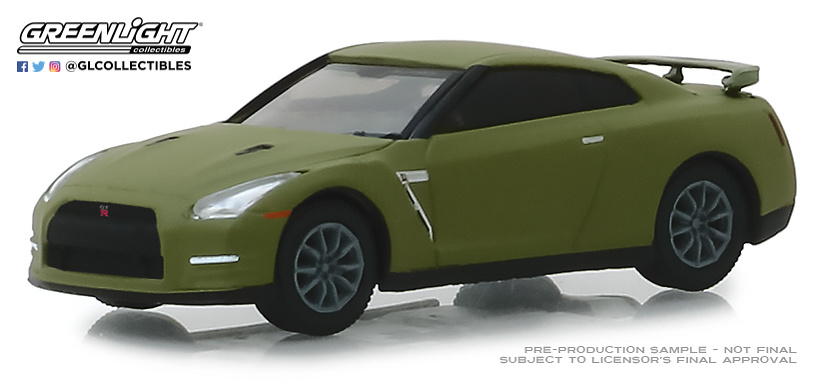 Nissan GT-R -R35- (2015) Greenlight 47030F 1/64