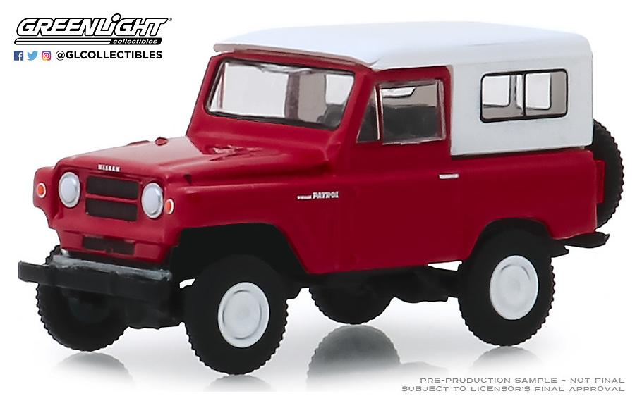 Nissan Patrol (1971) Greenlight 1/64