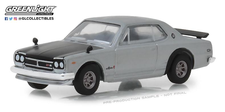 Nissan Skyline 2000 GT-R (1971) 47010C Greenlight 1/64