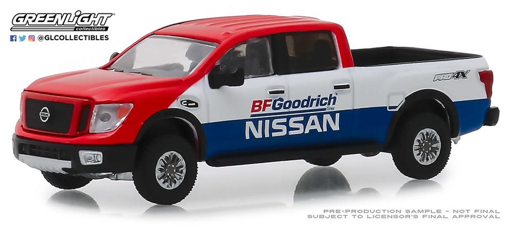 Nissan Titan XD Pro-4X BFGoodrich (2018) Tokyo Torque Greenlight 1/64
