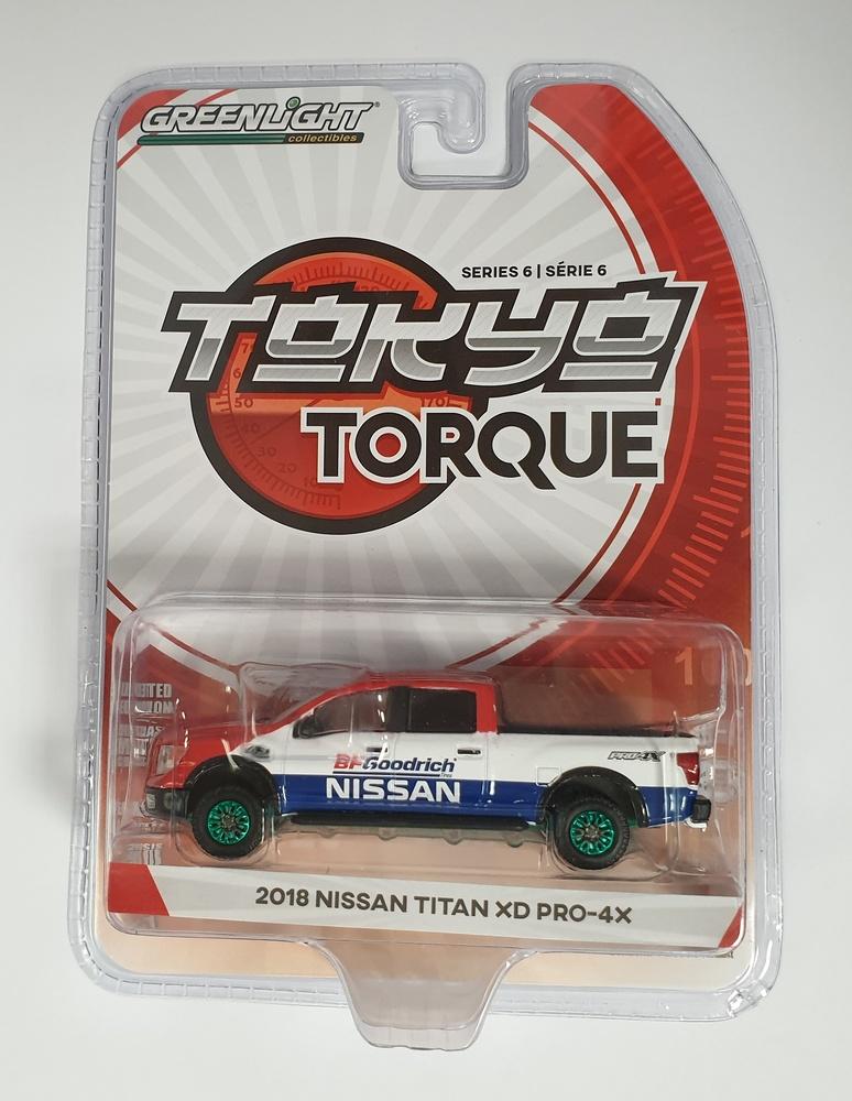 Nissan Titan XD Pro-4X BFGoodrich (2018) Tokyo Torque Greenmachine 1/64