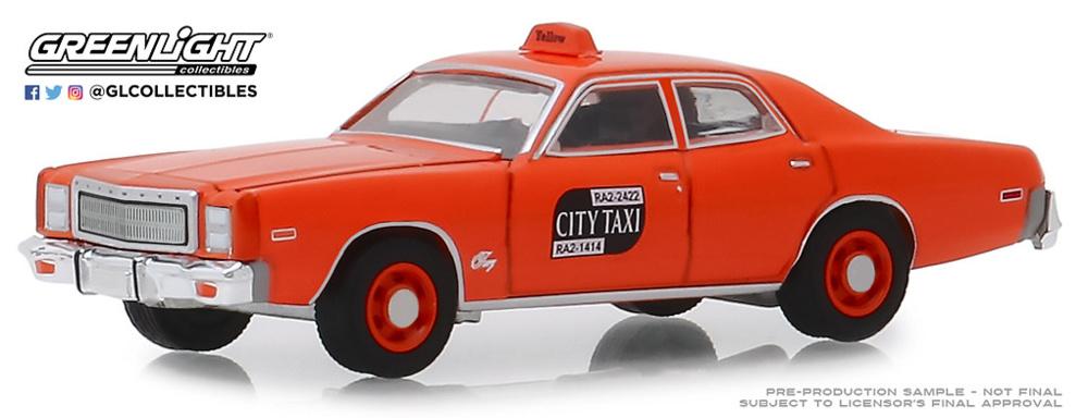 Plymouth Fury - Binghamton Taxi