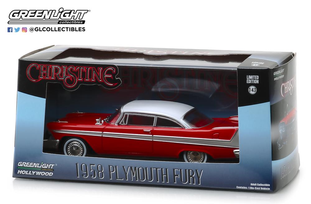 1957 Plymouth Fury *** Greenlight Black Bandit 1:64 OVP  *SALE*