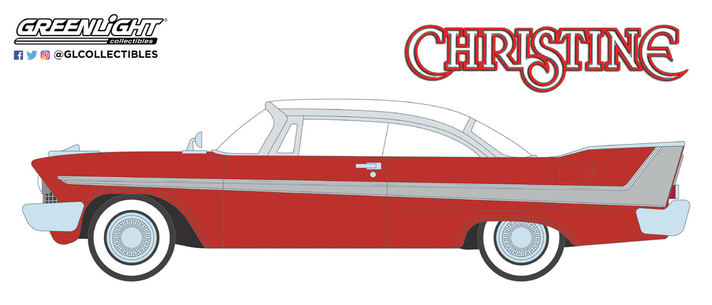 44830C Christine (1983) - 1958 Plymouth Fury Solid Pack