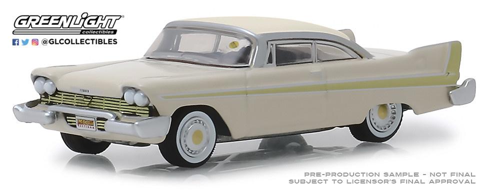 Plymouth Fury Golden Beige (Kissimmee) 1958 Greenlight 1/64