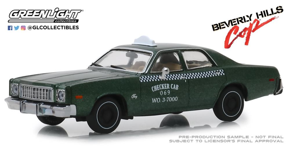 Plymouth Fury Policía de Detroit 069 W.O 3-7000
