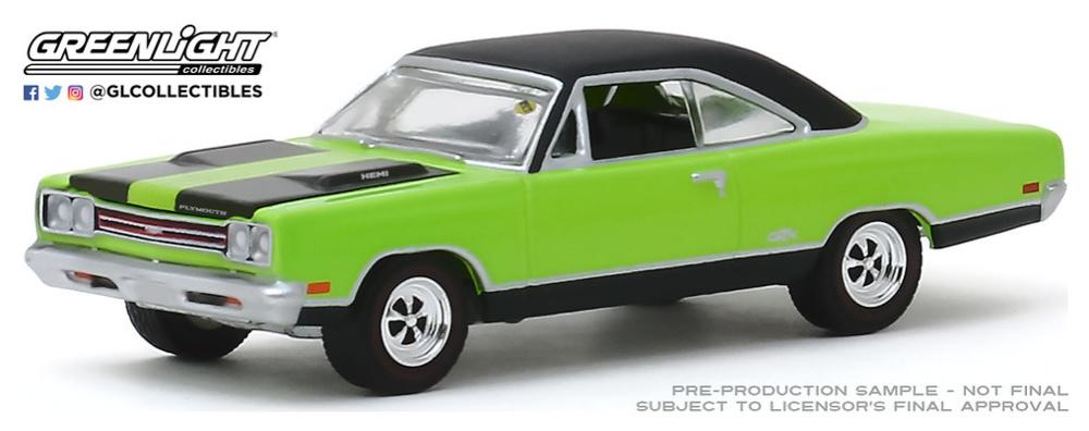 Plymouth HEMI GTX 1969 (Louisville 2018) Greenlight 1/64