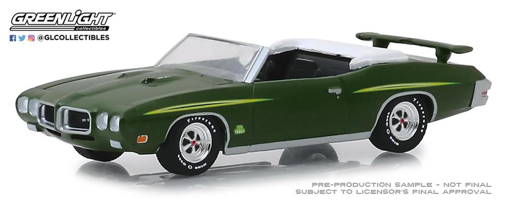 Pontiac GTO Judge Ram Air IV - lote 1452 (1970) Greenlight 37160F 1/64