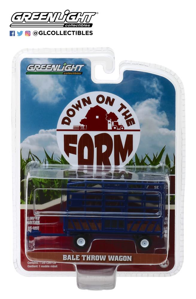Bale remolque para tractor Greenlight 48020F 1/64