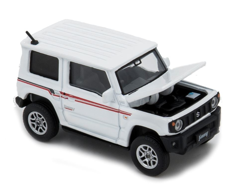 3 Inch Modellauto NEU!° Era Car 12 Suzuki Jimmy hellblau// weiss Maßstab 1:64