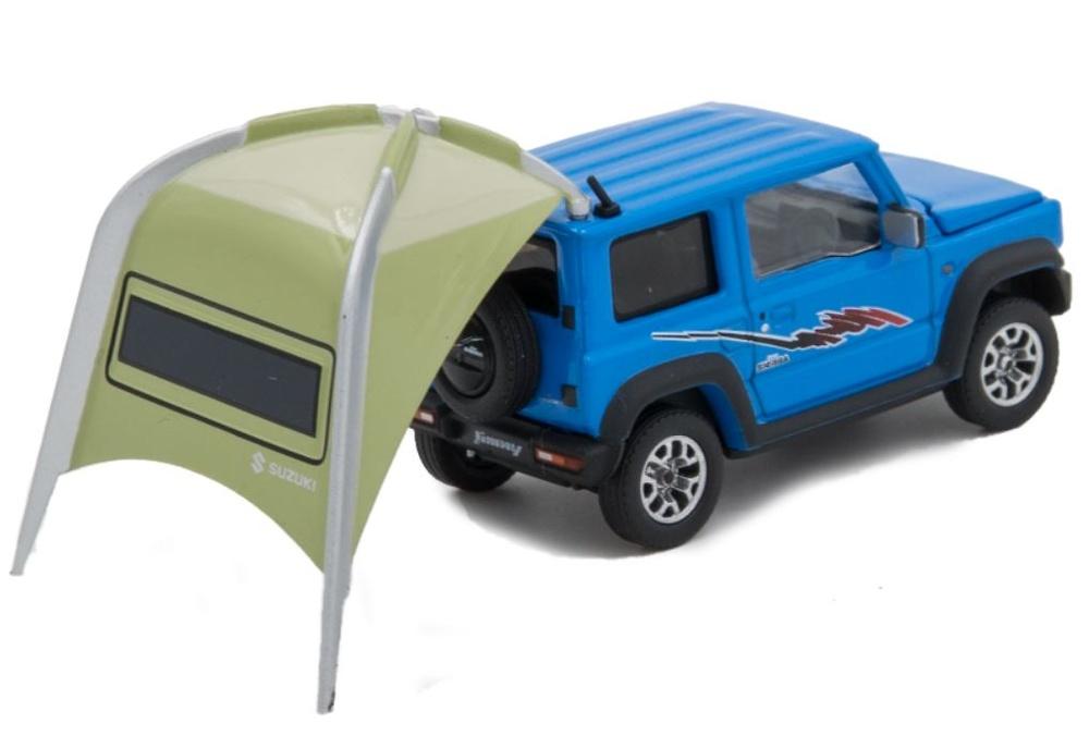 Suzuki Jimny Sierra con tienda de camping (2019) Era Car 1/64