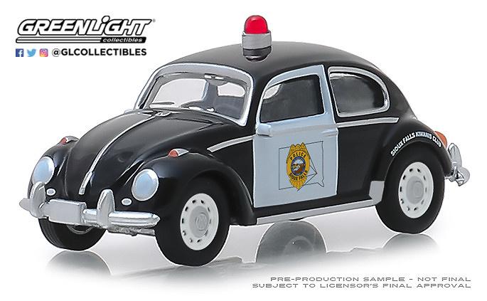 Volkswagen Beetle - Policía de Dakota Greenlight 1/64