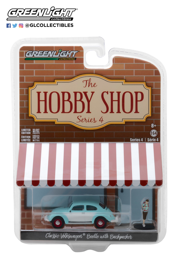 The Hobby Shop series 4 Greenlight 97040F 1/64