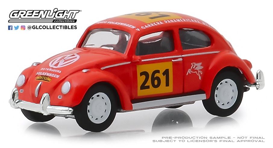 Volkswagen Beetle #261 (1954) Greenlight 1/64