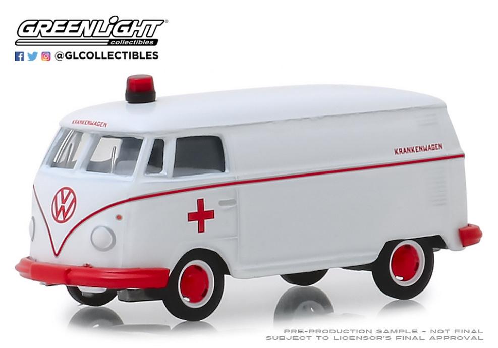 Volkswagen Panel Van Ambulancia (1964) Greenlight 1/64