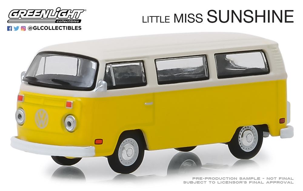 Volkswagen Type 2 Bus de 1978 Little Miss Sunshine (2006) Greenlight 1/64