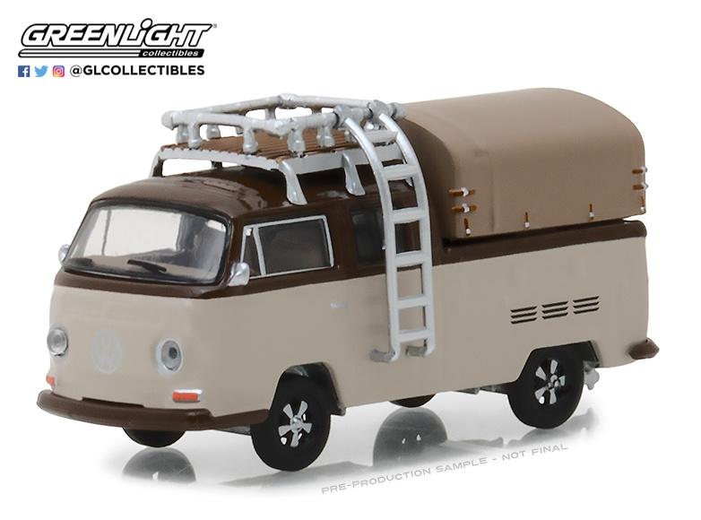 Volkswagen T2 Pickup Cabina Doble (1969) Greenlight 29920E 1/64