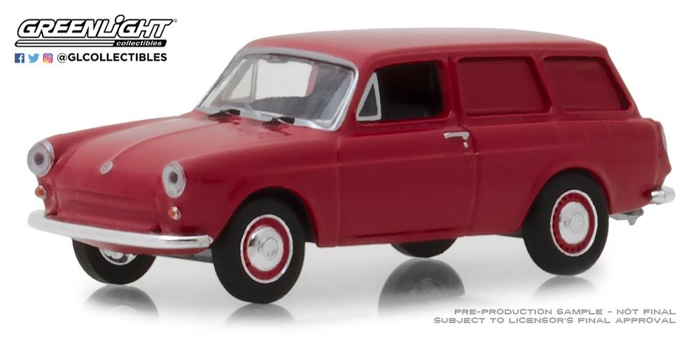 Volkswagen Tipo 3 Panelada (1968) Greenlight 29930-D 1/64