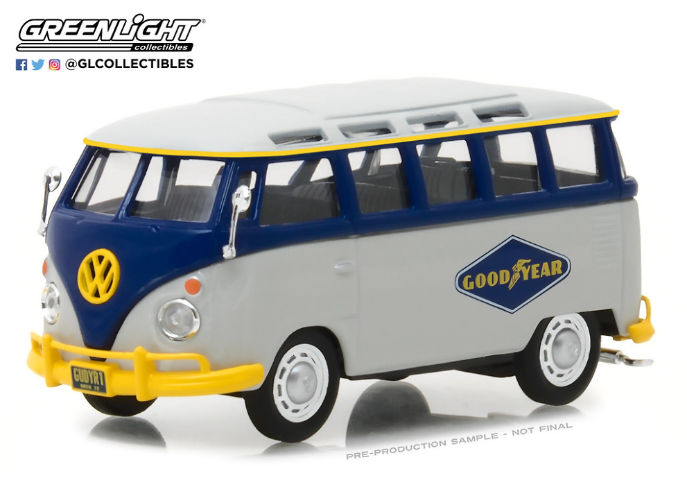Volkswagen Type 2 Samba Bus Goodyear Tires