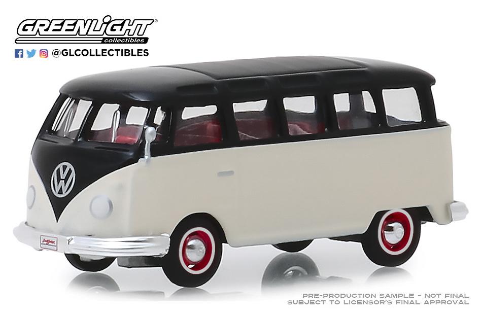 Volkswagen Type II 21-Window Deluxe Bus (Lot #1315) (1965) Greenlight 1/64