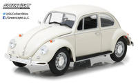 1:18 1967 Volkswagen Beetle Right-Hand Drive - Lotus White Greenlight