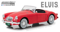 1:18 Elvis Presley (1935-77) - 1959 MG A 1600 Roadster MkI (as driven in musical comedy film Blue Hawaii)