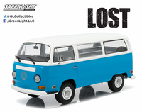 1:18 Lost (TV Series, 2004-10) - 1971 Volkswagen Type 2 (T2B) Darma Van Greenlight