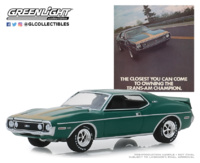 "AMC Javelin AMX ""The Closest You Can Come To Owning The Trans-Am Champion""(1972) Greenlight 1:64"