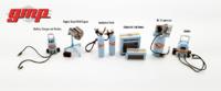 Accesorios de taller de coche - serie Gulf Oil GMP 1/43