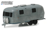 "Airstream Land Yatch Safari doble eje ""envejecida"" (1971) Greenlight 1/64"